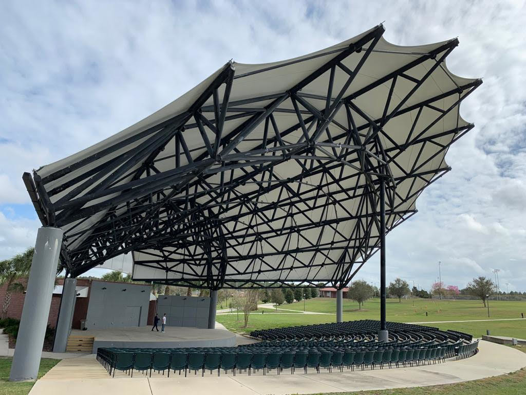 PVC Tensile Membrane Structure