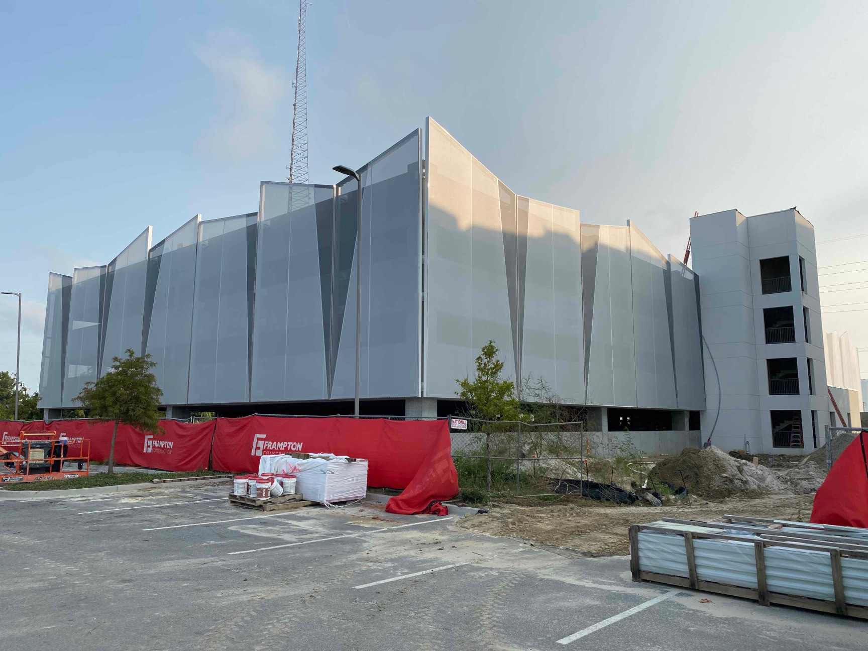 tensile membrane facade system PVC Mesh