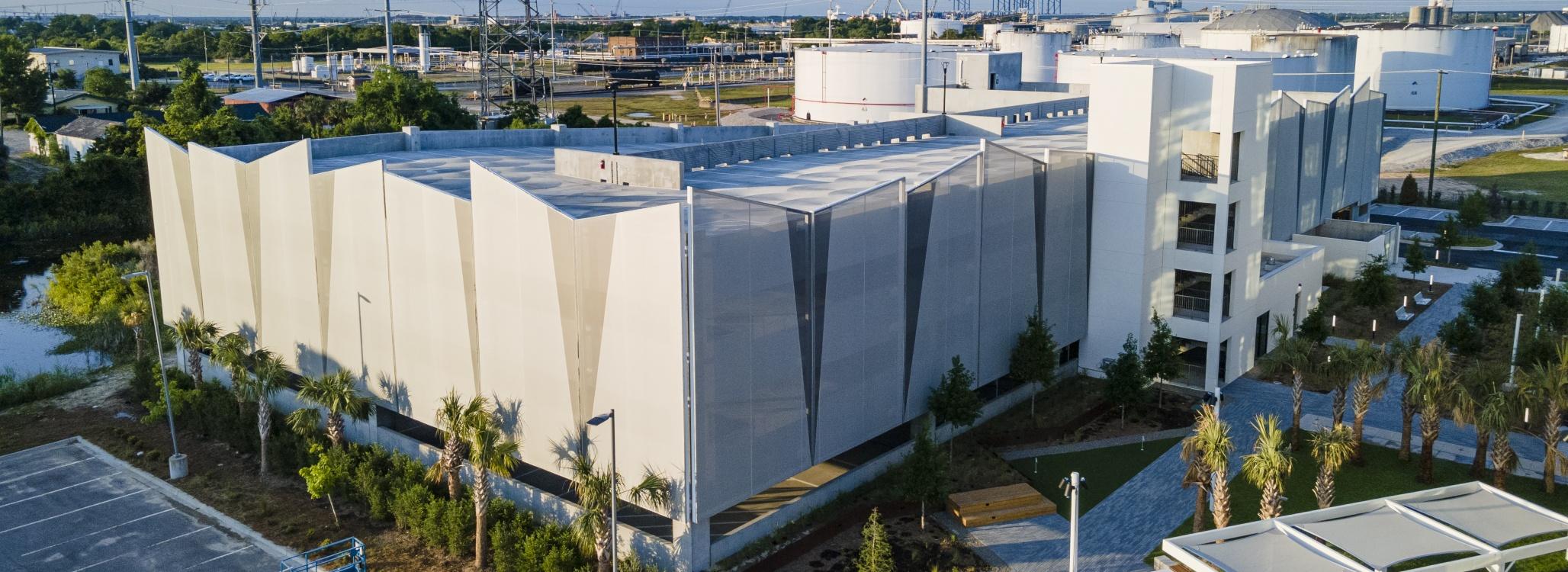 Big Span Structures Tensile Membrane Facade